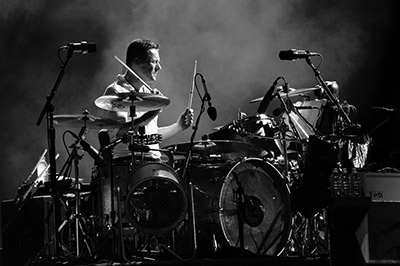 U2 - Larry Mullen Jr.